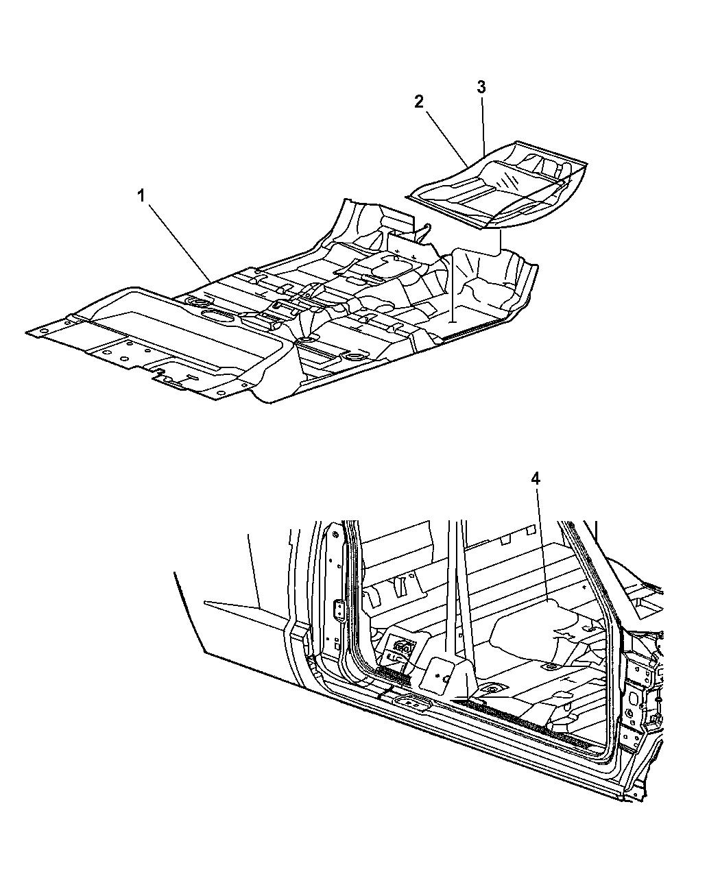 Genuine Mopar CARPET-FLOOR