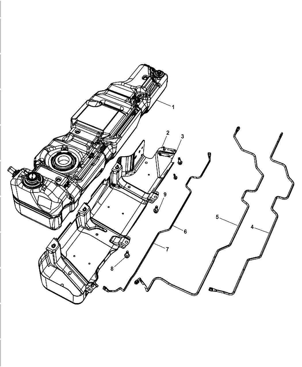 2007 Jeep Wrangler Fuel Tank