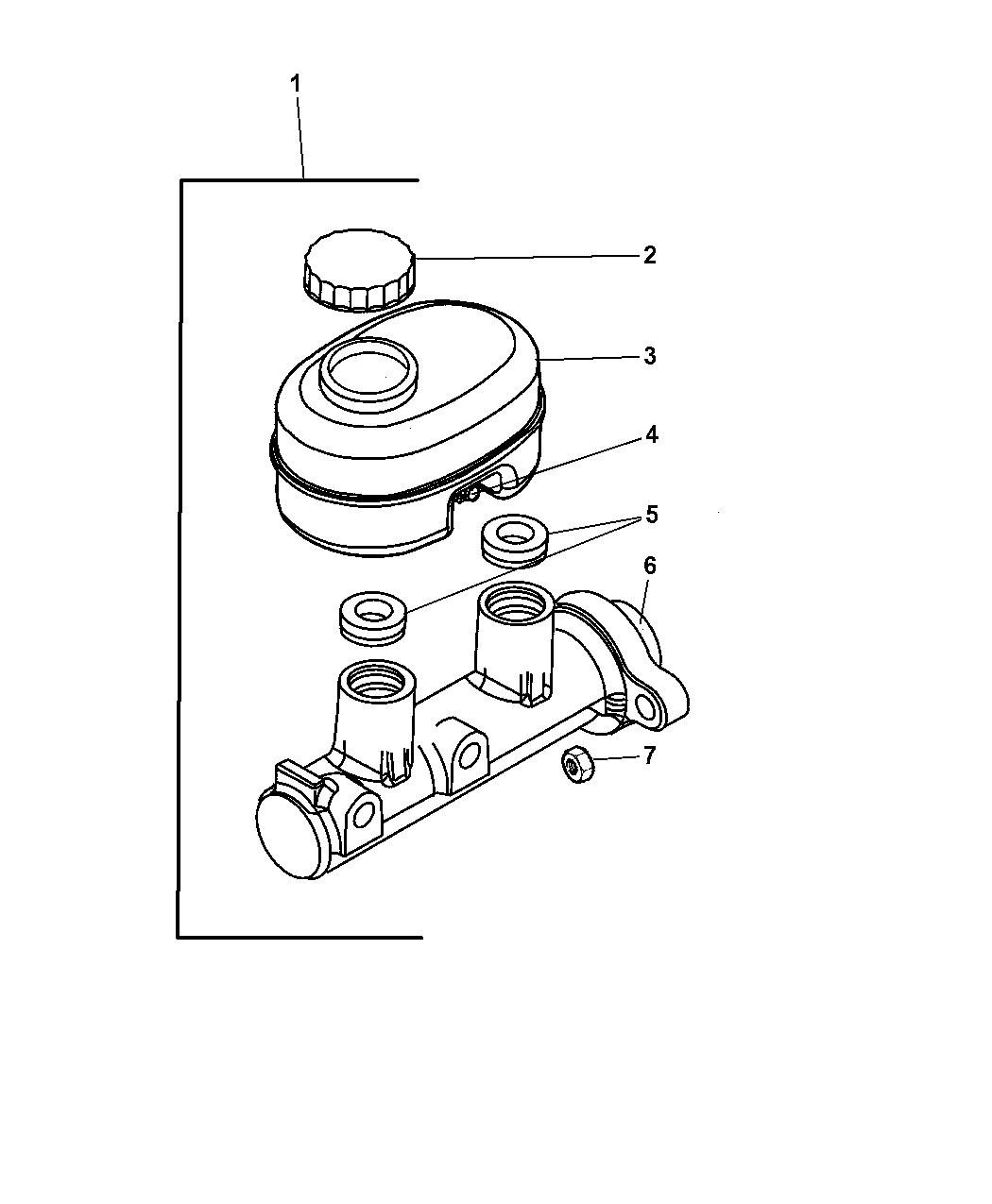 1999 Dodge Ram 3500 Quad Club Cab Brake Master Cylinder Car Fuel Pump Diagram