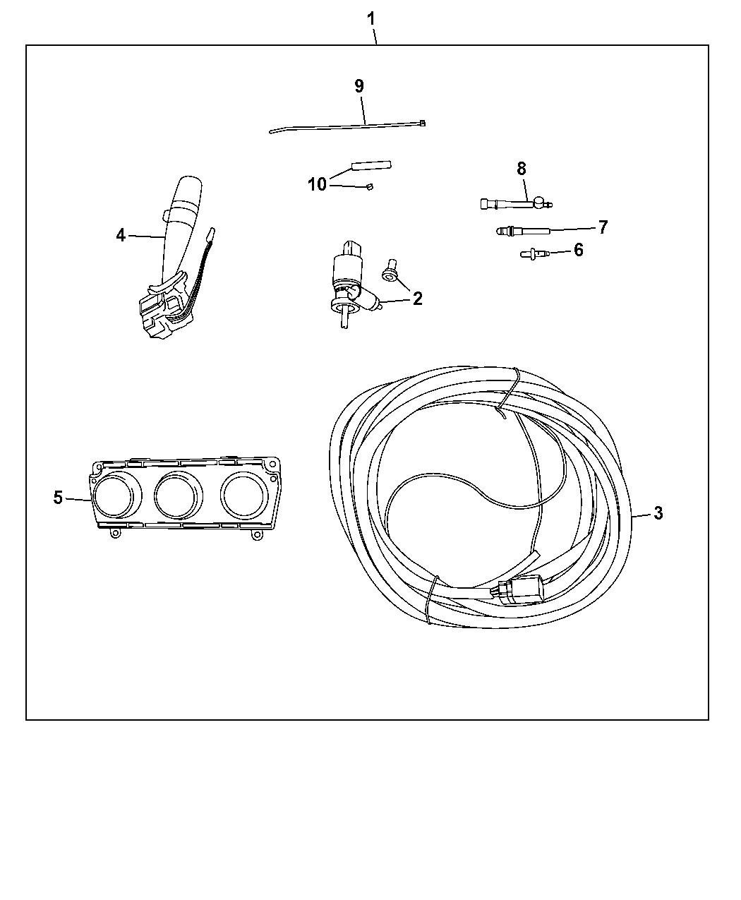 82214392 Genuine Jeep Hard Top Wiring Diagram 2017 Wrangler