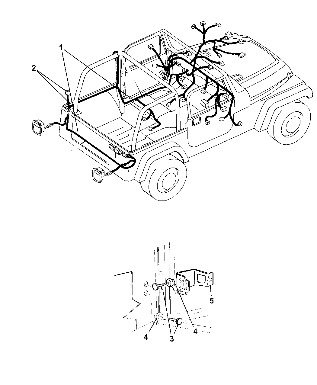 2004 Jeep Wrangler Wiring   Body U0026 Accessories