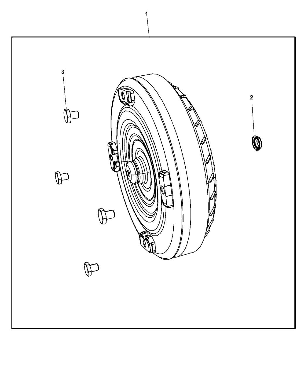 2015 Dodge Journey Torque Converter - Mopar Parts Giant
