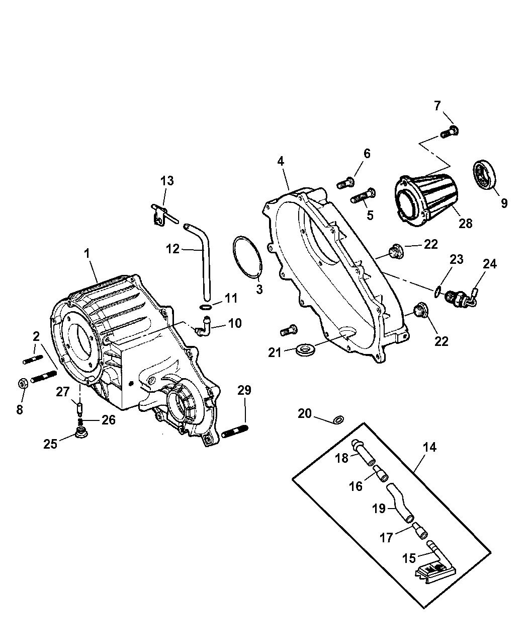 Genuine Mopar Switch-Transfer Case 5134375AA