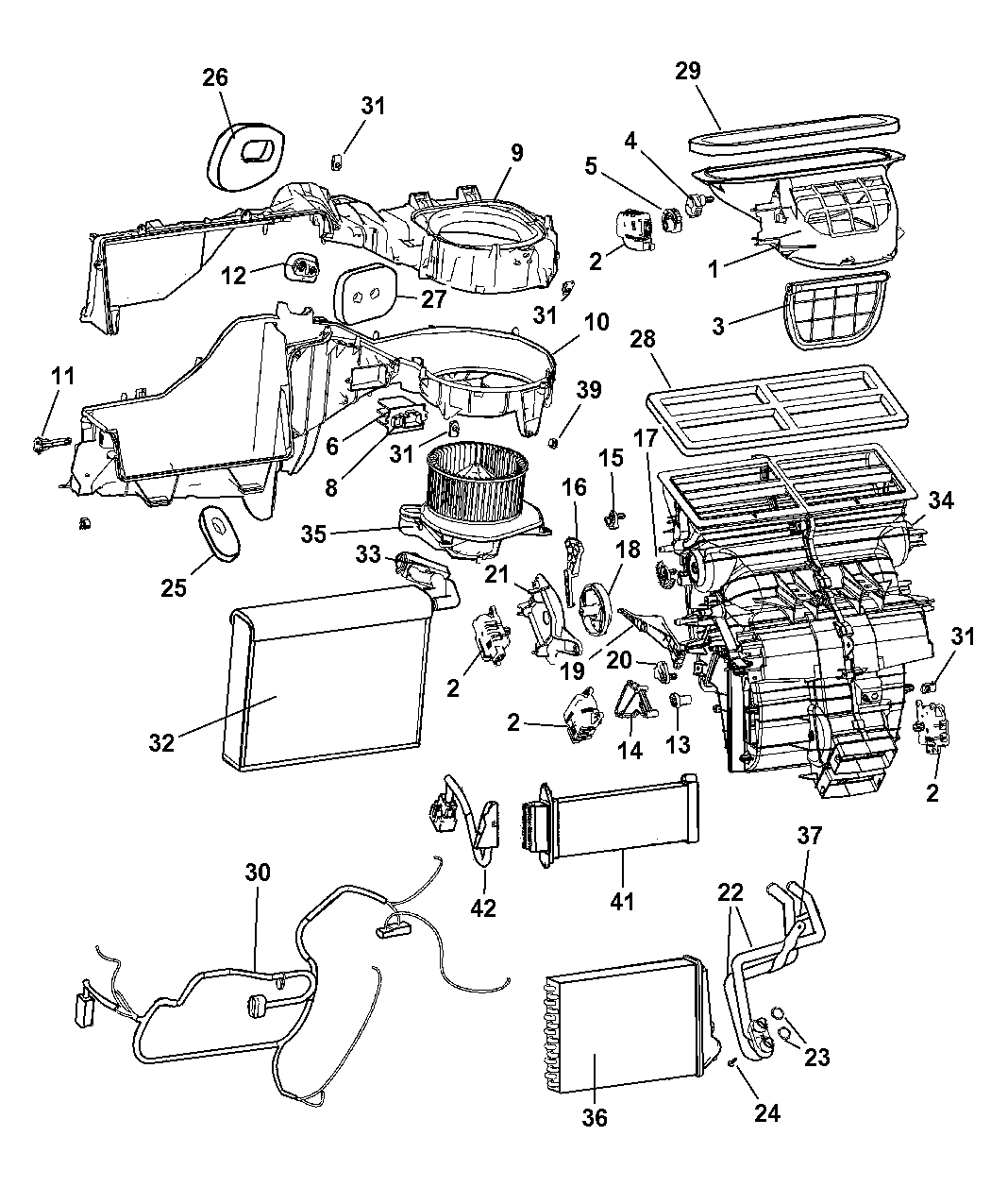 2009 jeep grand cherokee engine diagram 68057463aa genuine mopar resistor blower motor  genuine mopar resistor blower motor