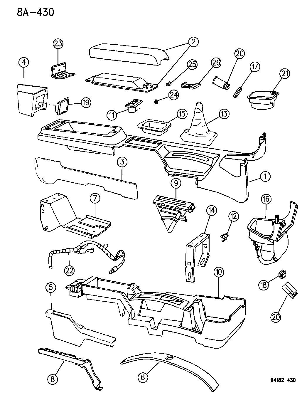 94 Chrysler Lebaron Wiring Diagram - Wiring Diagram Networks