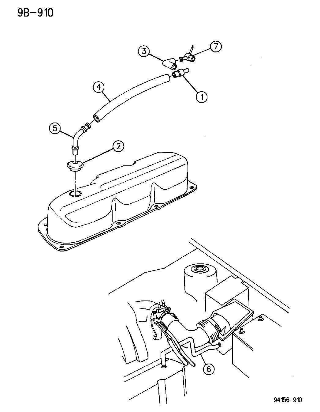 1996 Dodge Caravan Engine Diagram