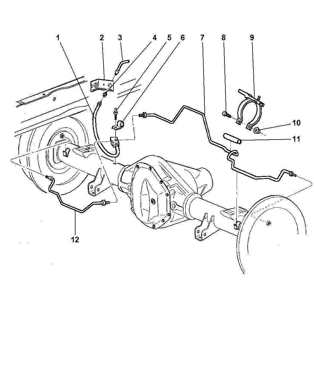 Genuine Mopar LINE-BRAKE