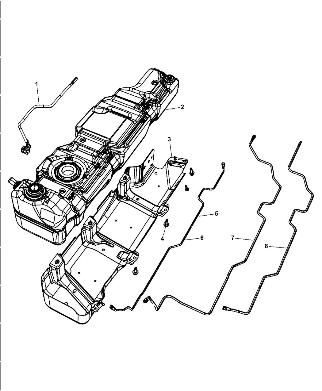 52059718ao Genuine Mopar Tank Fuel Jeep Diagram 2016 Wrangler