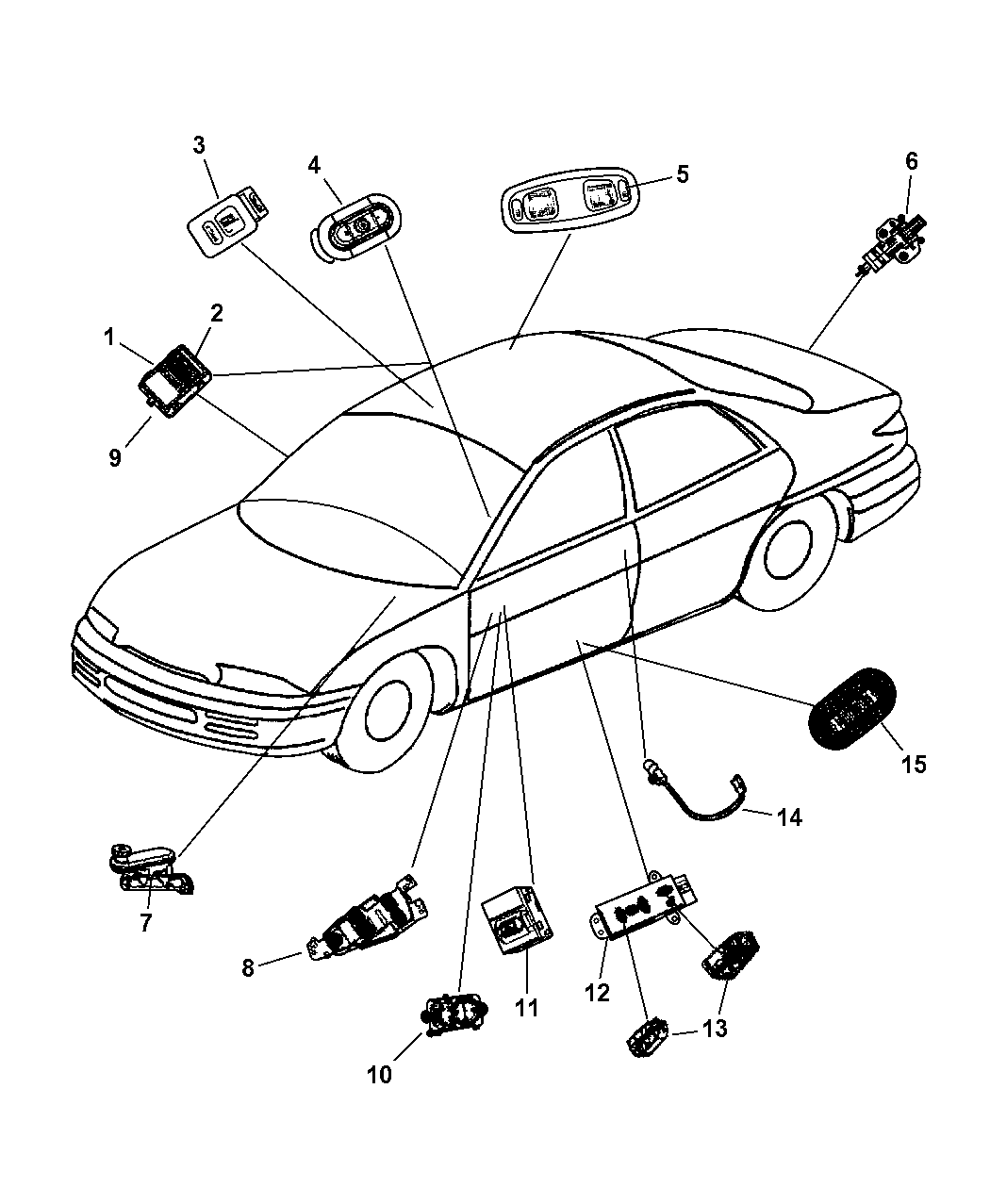 91 dodge dakota radio wiring harness dodge dakota radio wiring diagram for 1987 2000 chrysler concorde door parts imageresizertool com #5