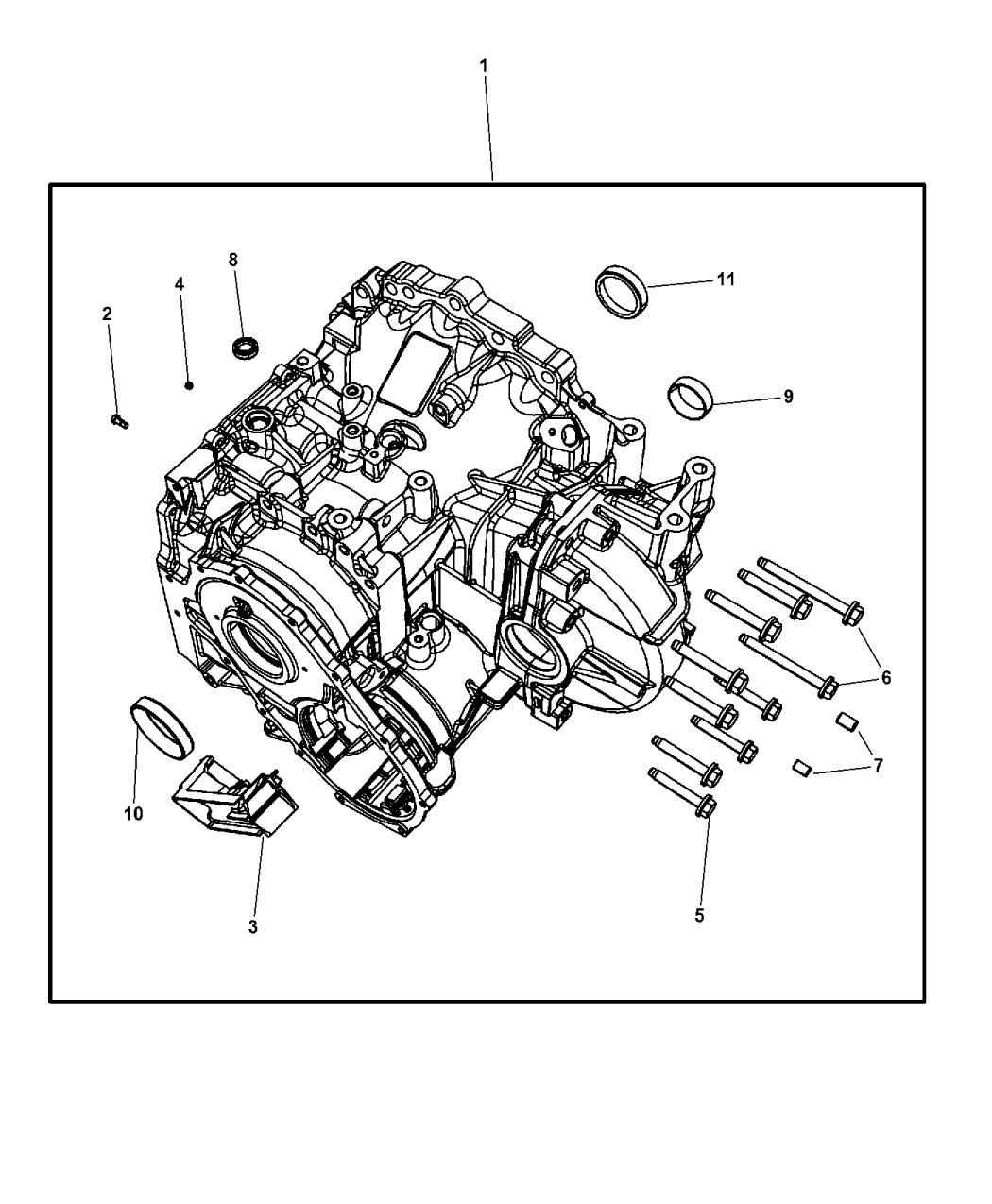 2015 Dodge Grand Caravan Case