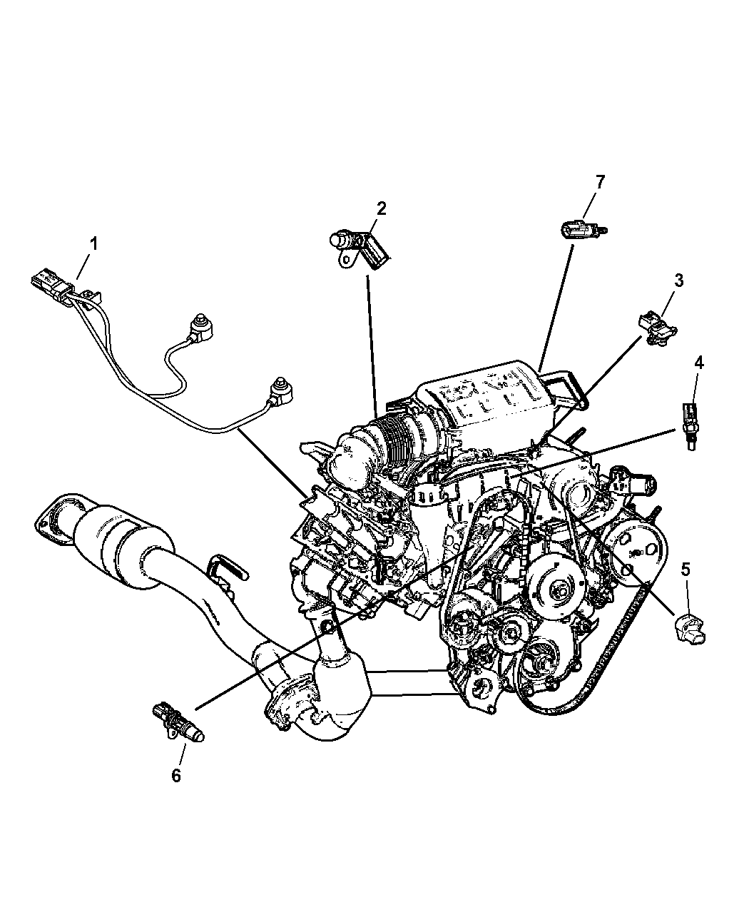Circuit Electric For Guide  2007 Dodge Nitro 3 7l Engine