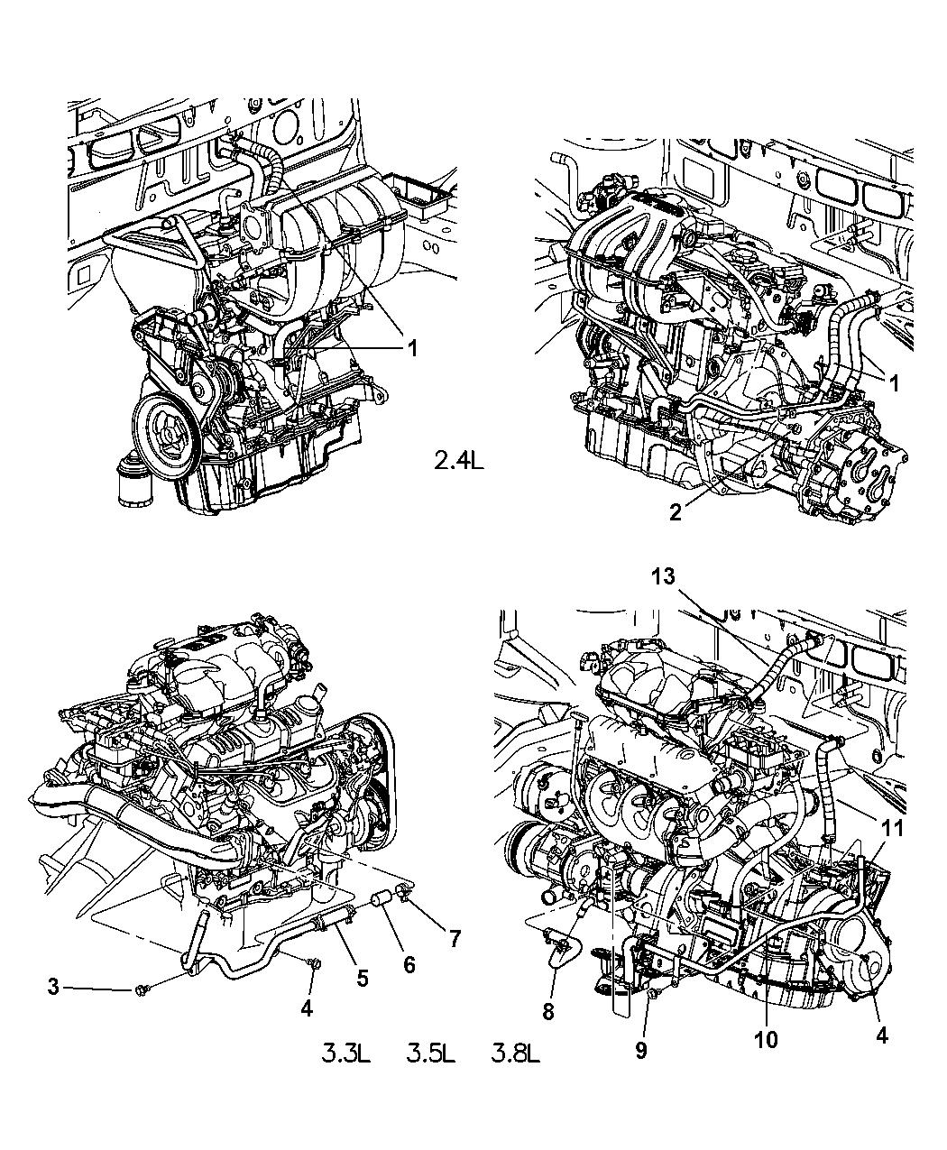 Dodge Caravan 2 4l Engine Diagram