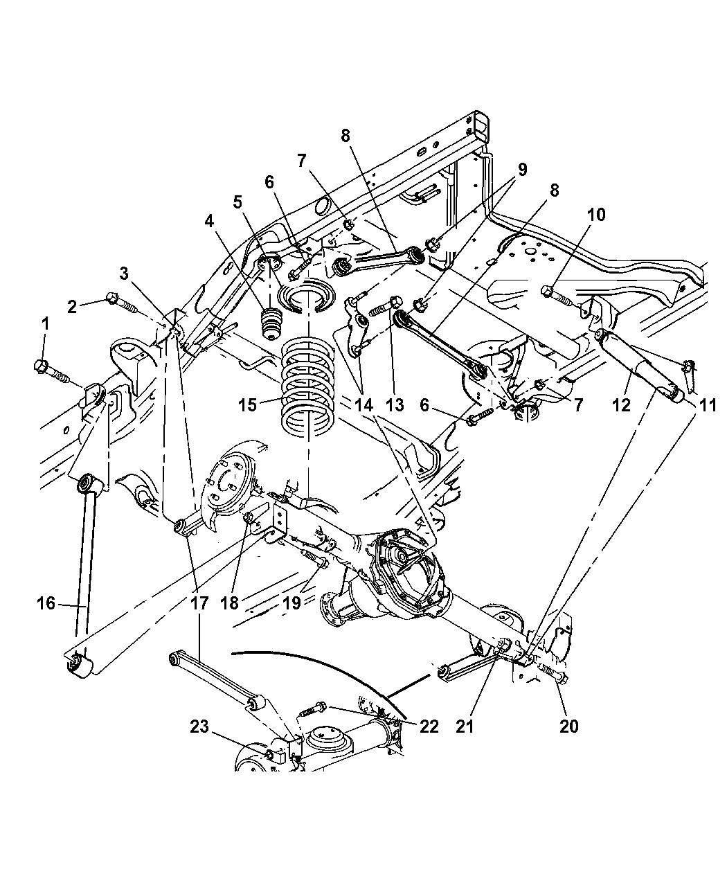 2007 dodge durango suspension parts diagram  u2022 wiring