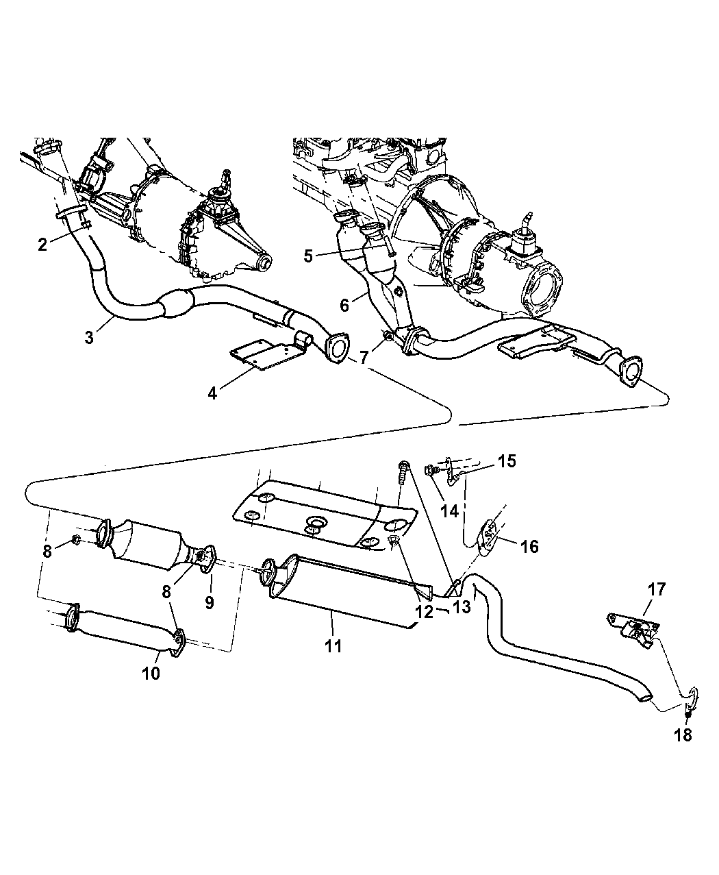 Wiring Diagram: 31 2000 Jeep Cherokee Exhaust System Diagram