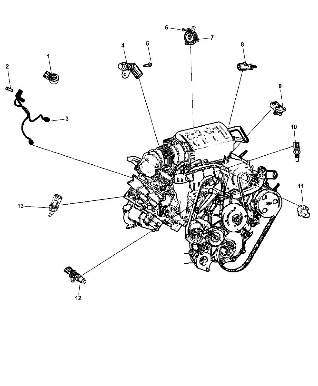 2015 jeep grand cherokee sensors engine mopar parts giant