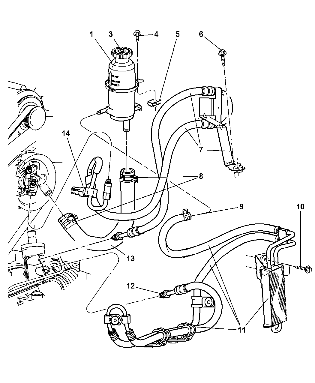 liberty 3 7l engine diagram