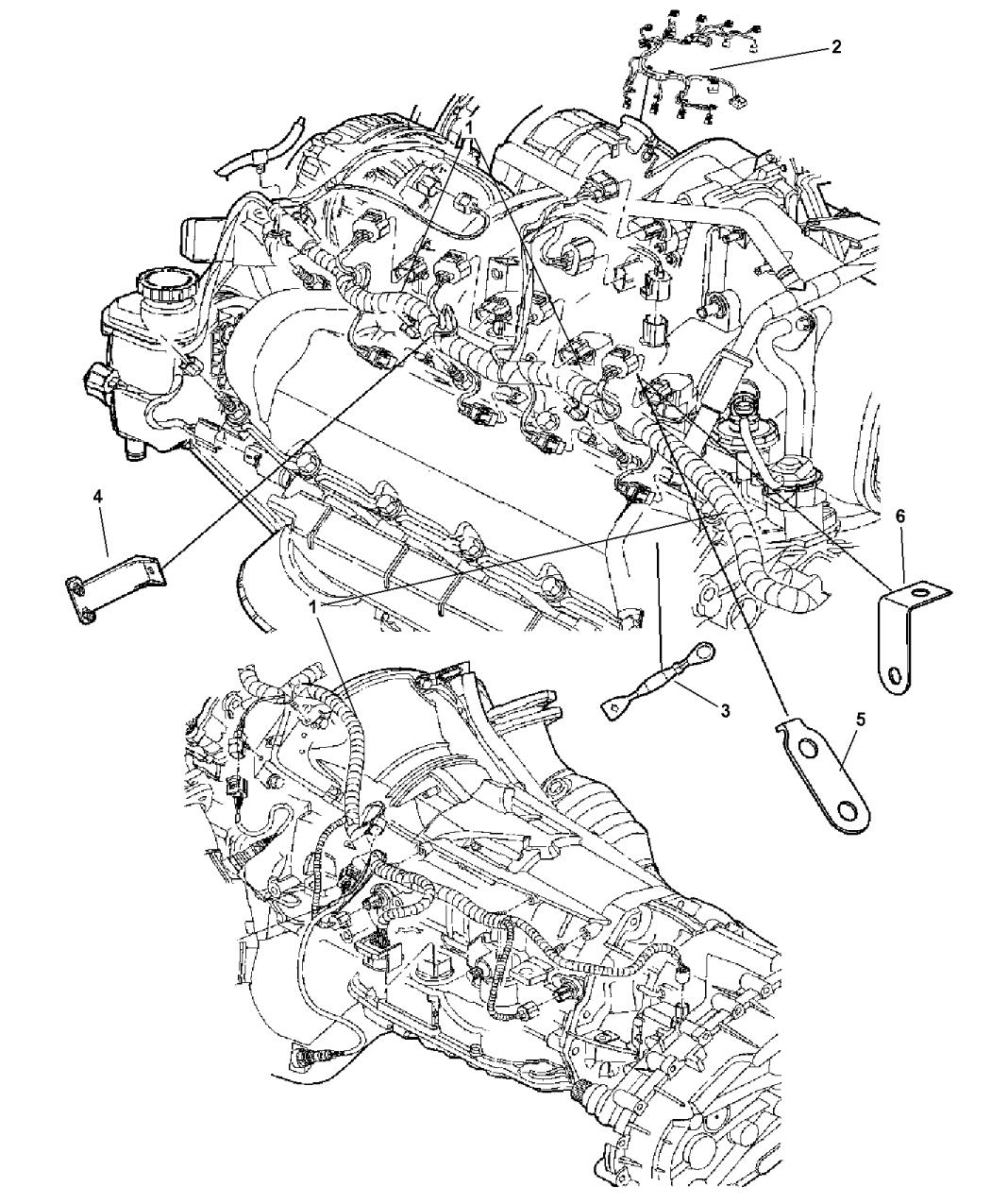 2005 Dodge Ram 1500 Wiring - Engine - Mopar Parts GiantMopar Parts Giant