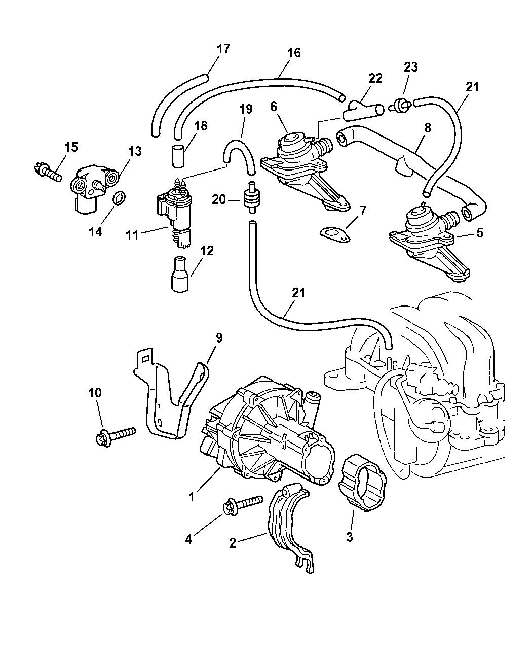 Chrysler Crossfire Engine Diagram