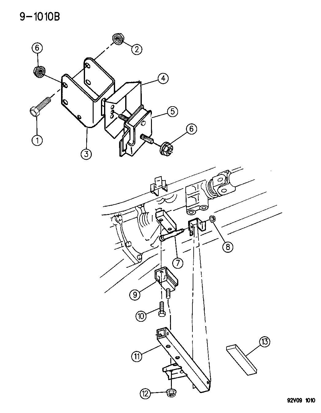 1996 dodge viper engine mounts