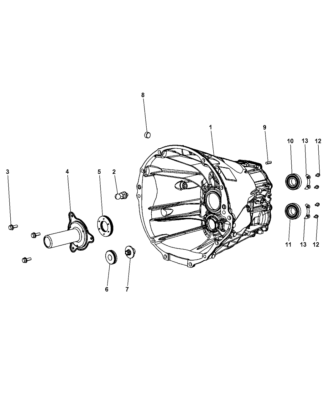 2014 Jeep Wrangler Case & Related Parts - Mopar Parts Giant