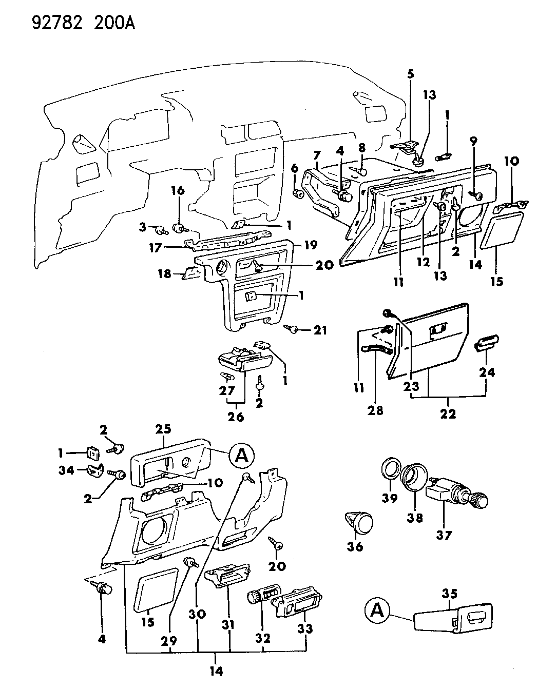 Dodge Colt Fuse Box Wiring Library 1991 B350 1993 Instrument Panel Thumbnail 1