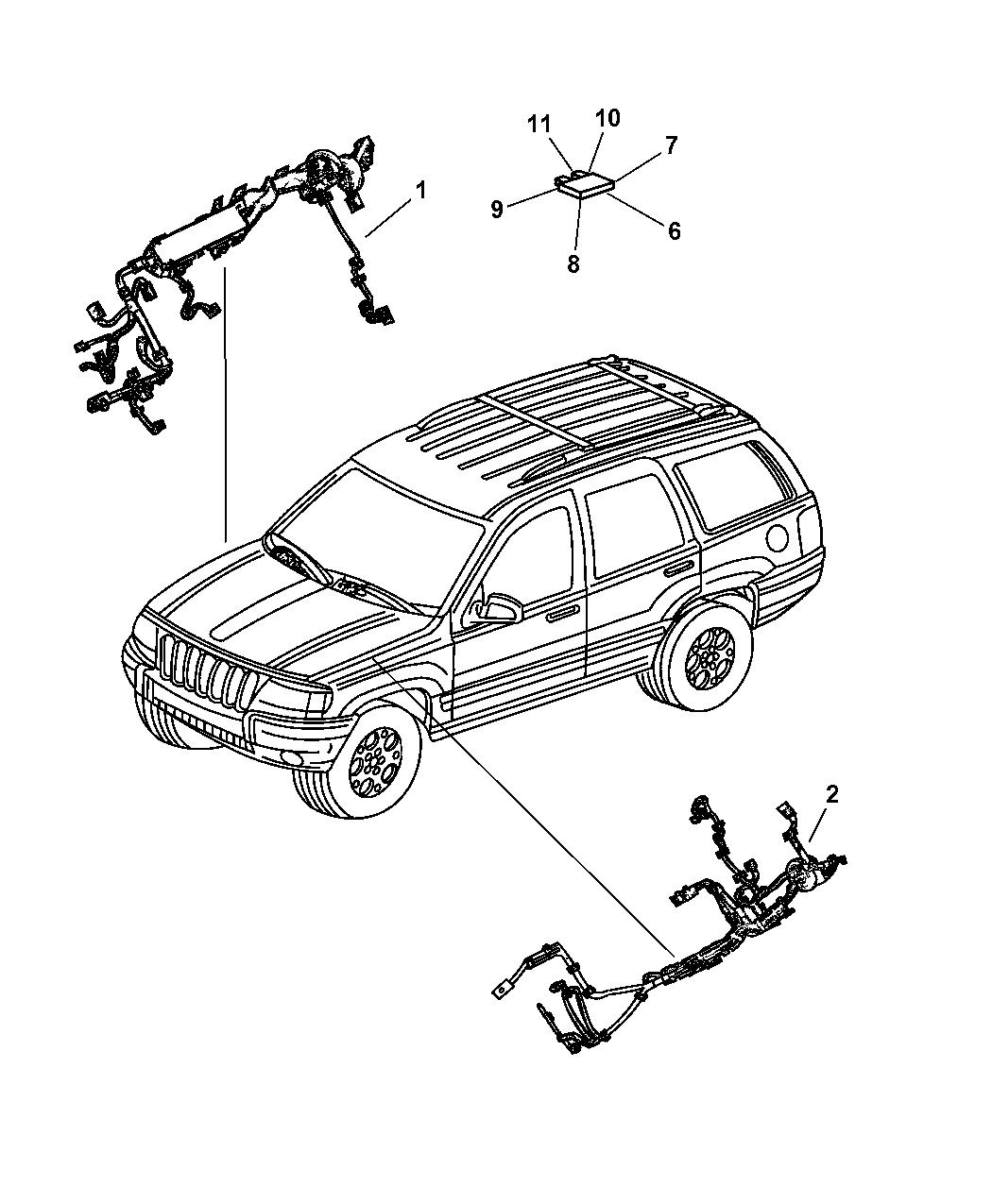 Wiring Diagram PDF: 2002 Jeep Grand Cherokee Wiring