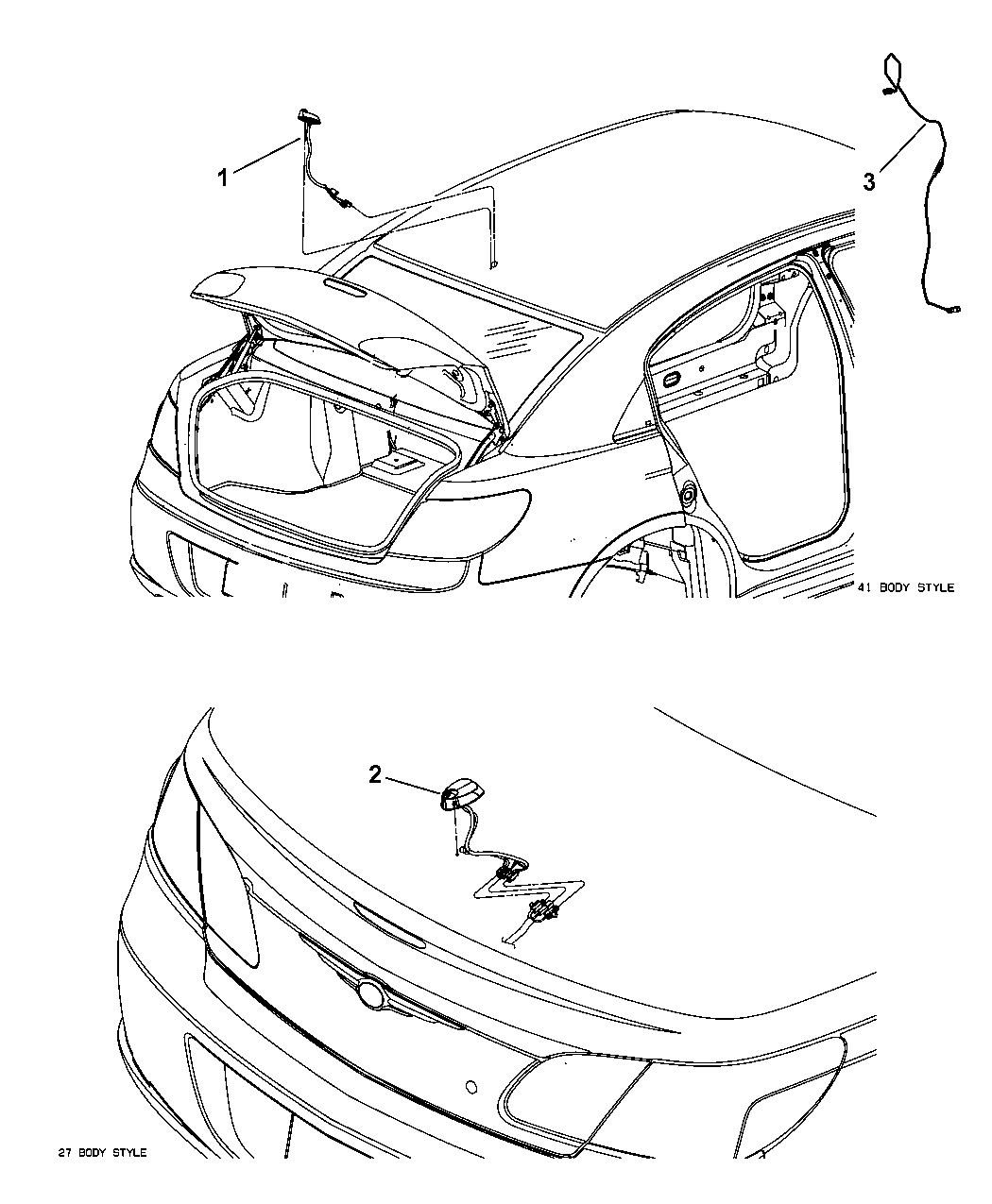 26 2008 Chrysler Sebring Convertible Parts Diagram