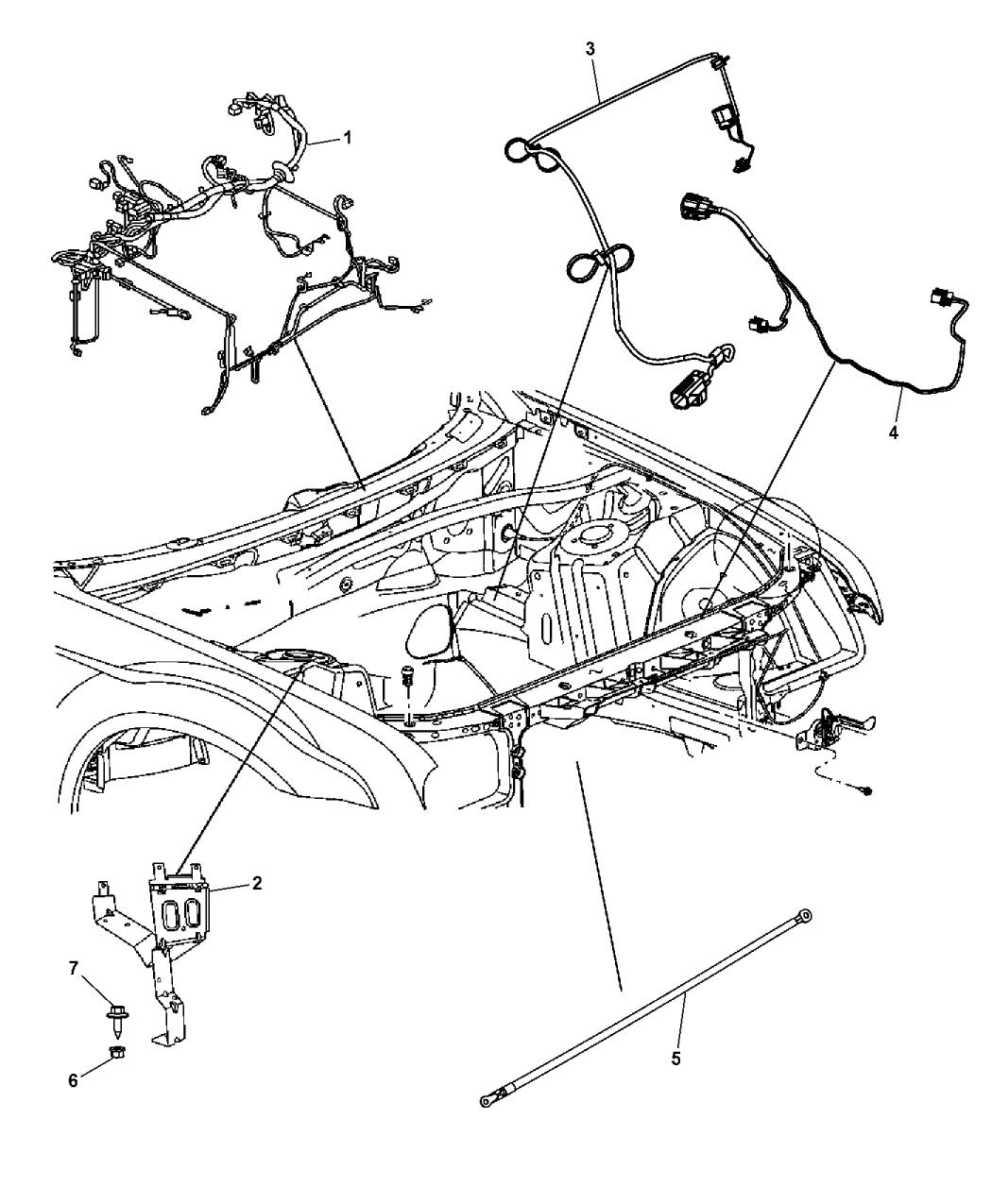 Chrysler 300 Parts Diagram Power Distribution