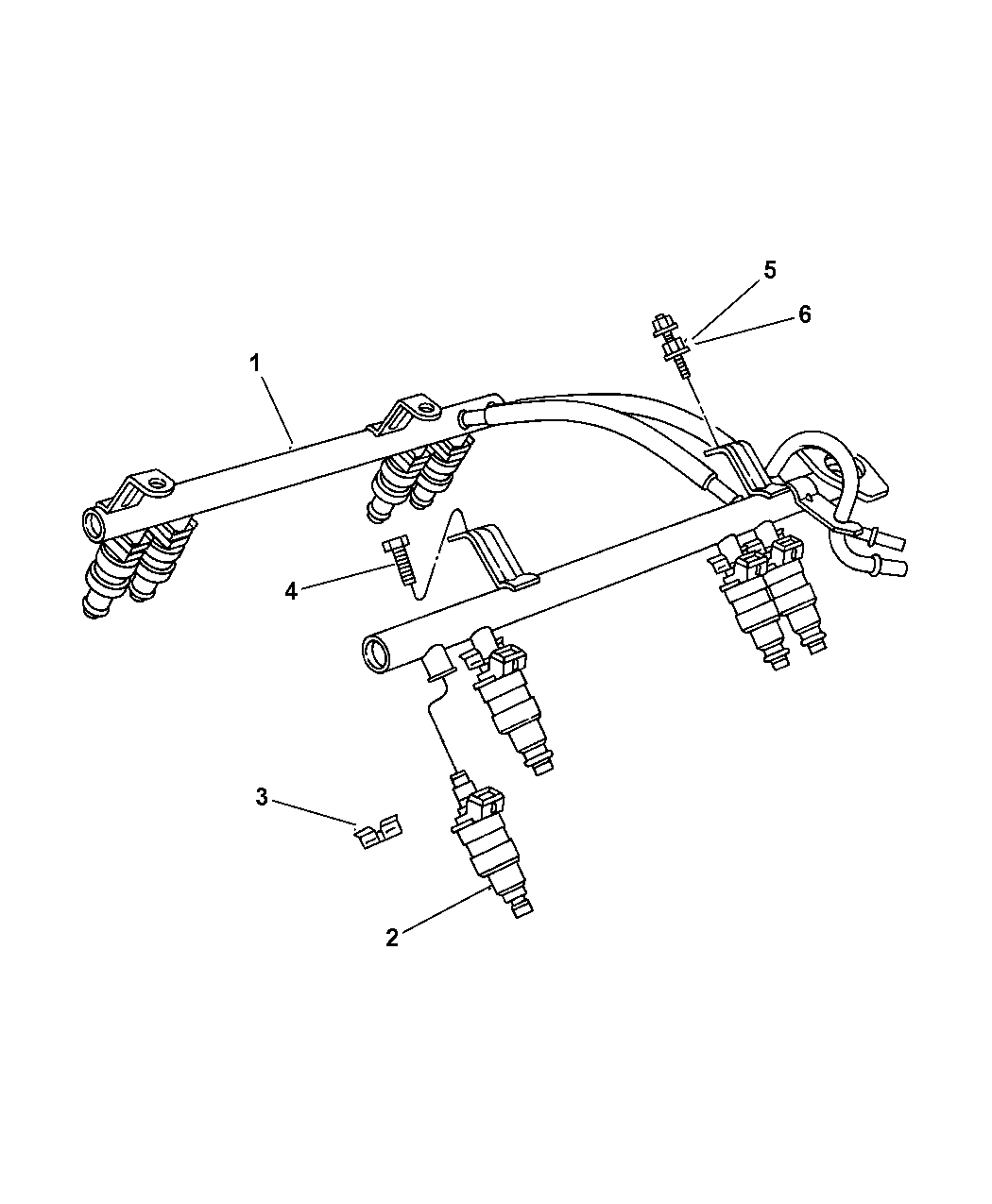 1997 Jeep Cherokee Fuel Injection System - Thumbnail 1