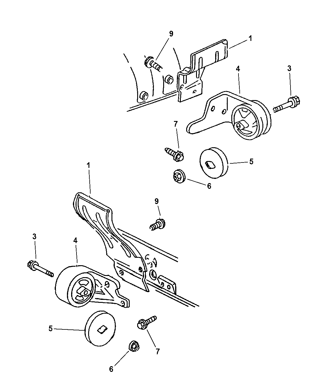 Genuine Chrysler 52021367AA Engine Mount Insulator