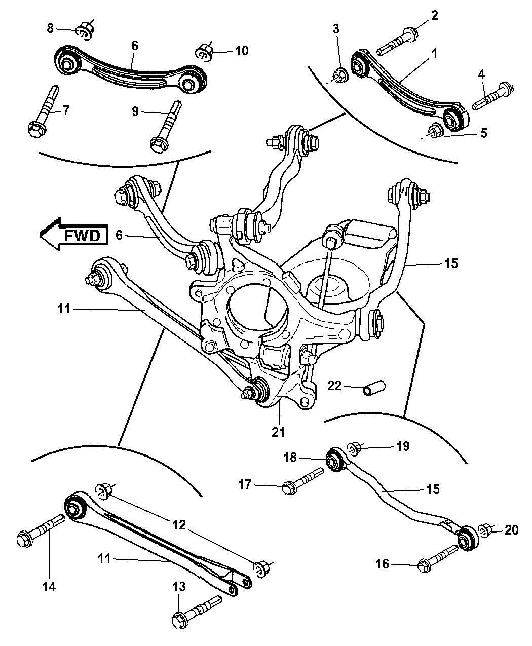 Dodge Charger Rear Suspension Diagram | Car Reviews 2018