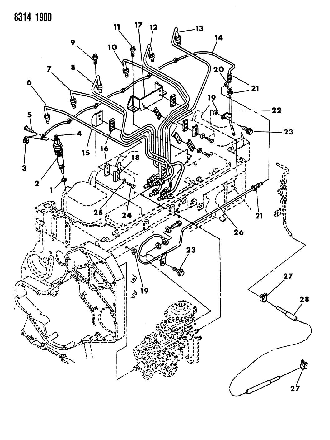 4429356 Genuine Mopar Seal Fuel Injector