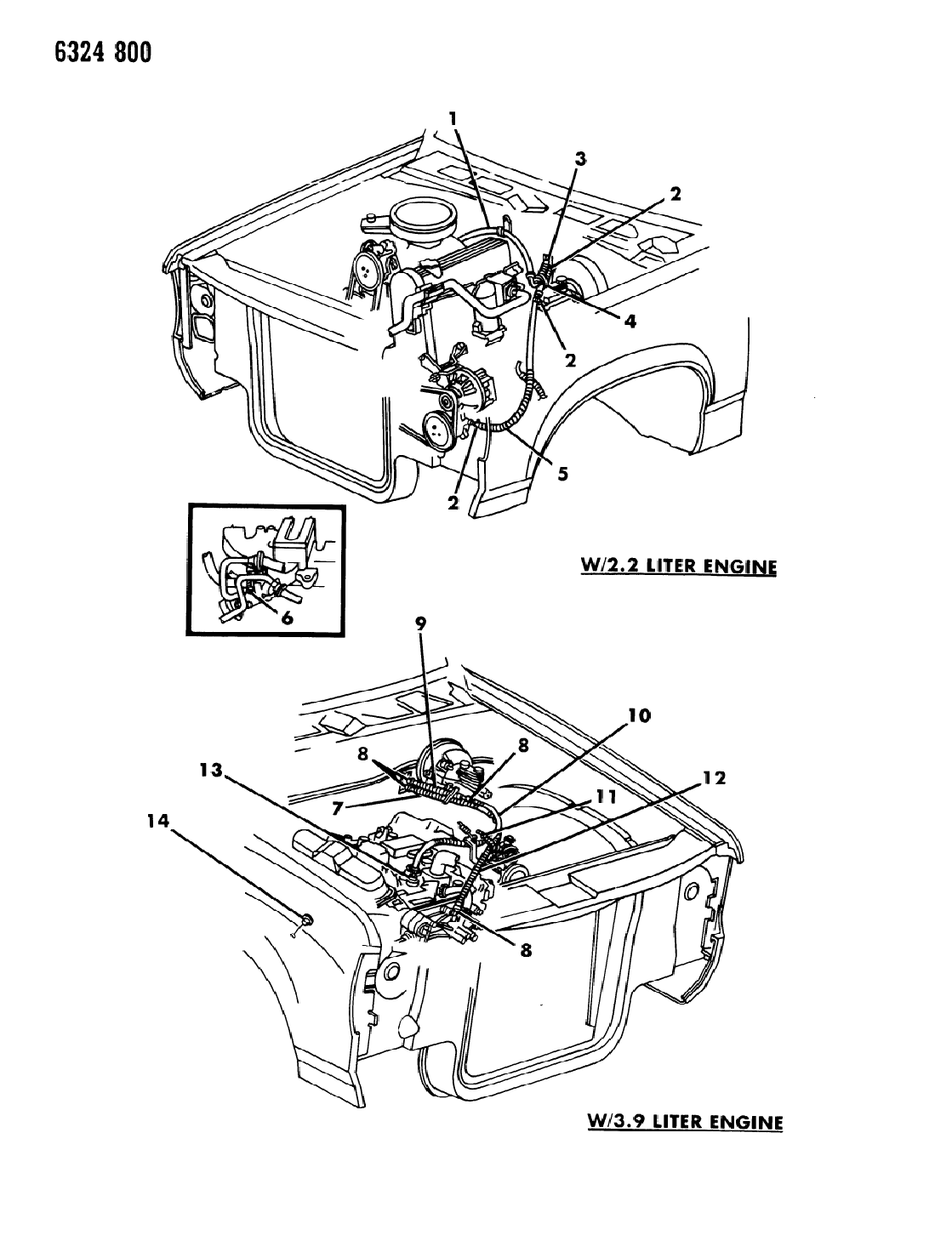 1987 Dodge Dakota Plumbing - Heater