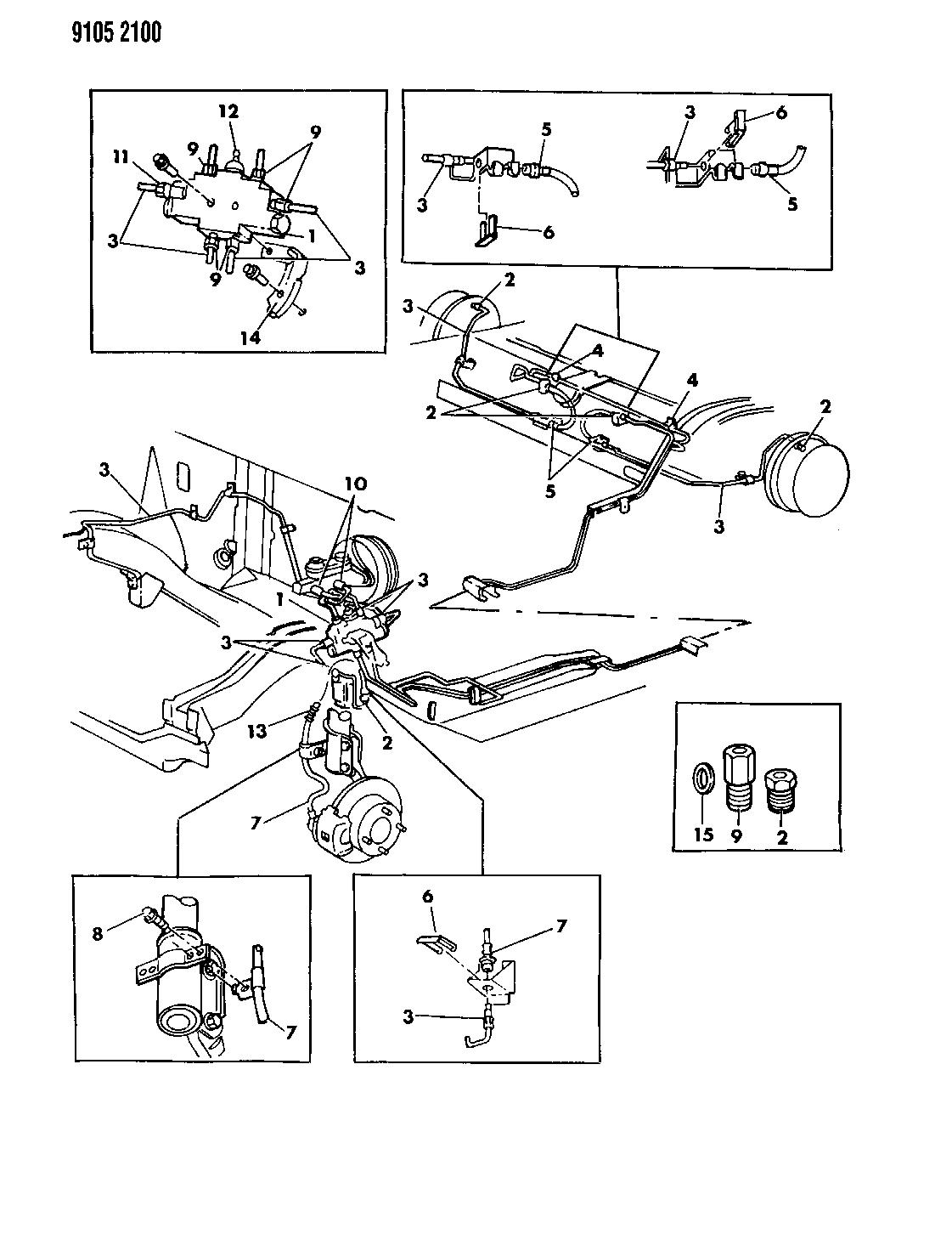 [WRG-7489] 1988 Dodge Omni Wiring Diagrams