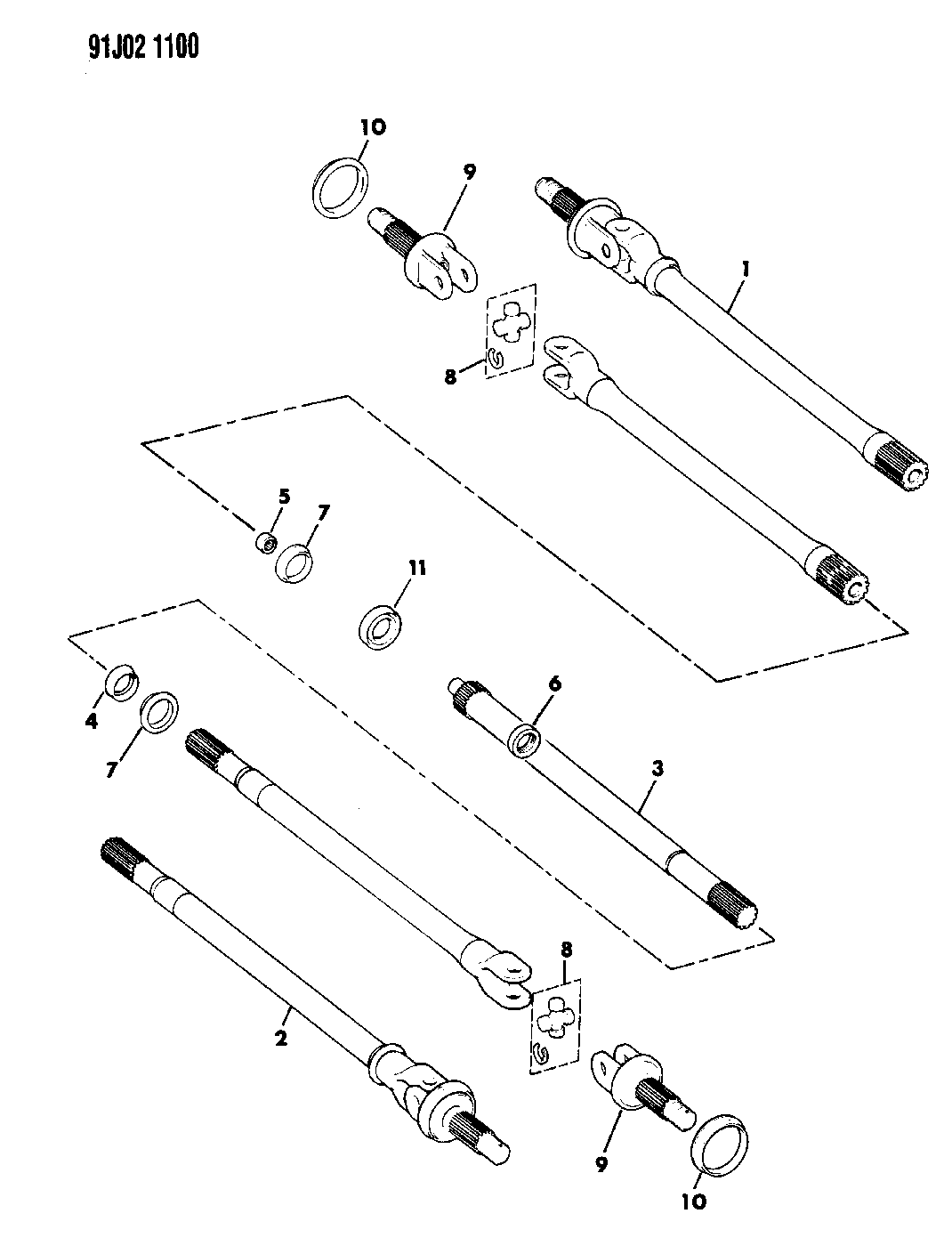 Jeep Wrangler Front Suspension Diagram