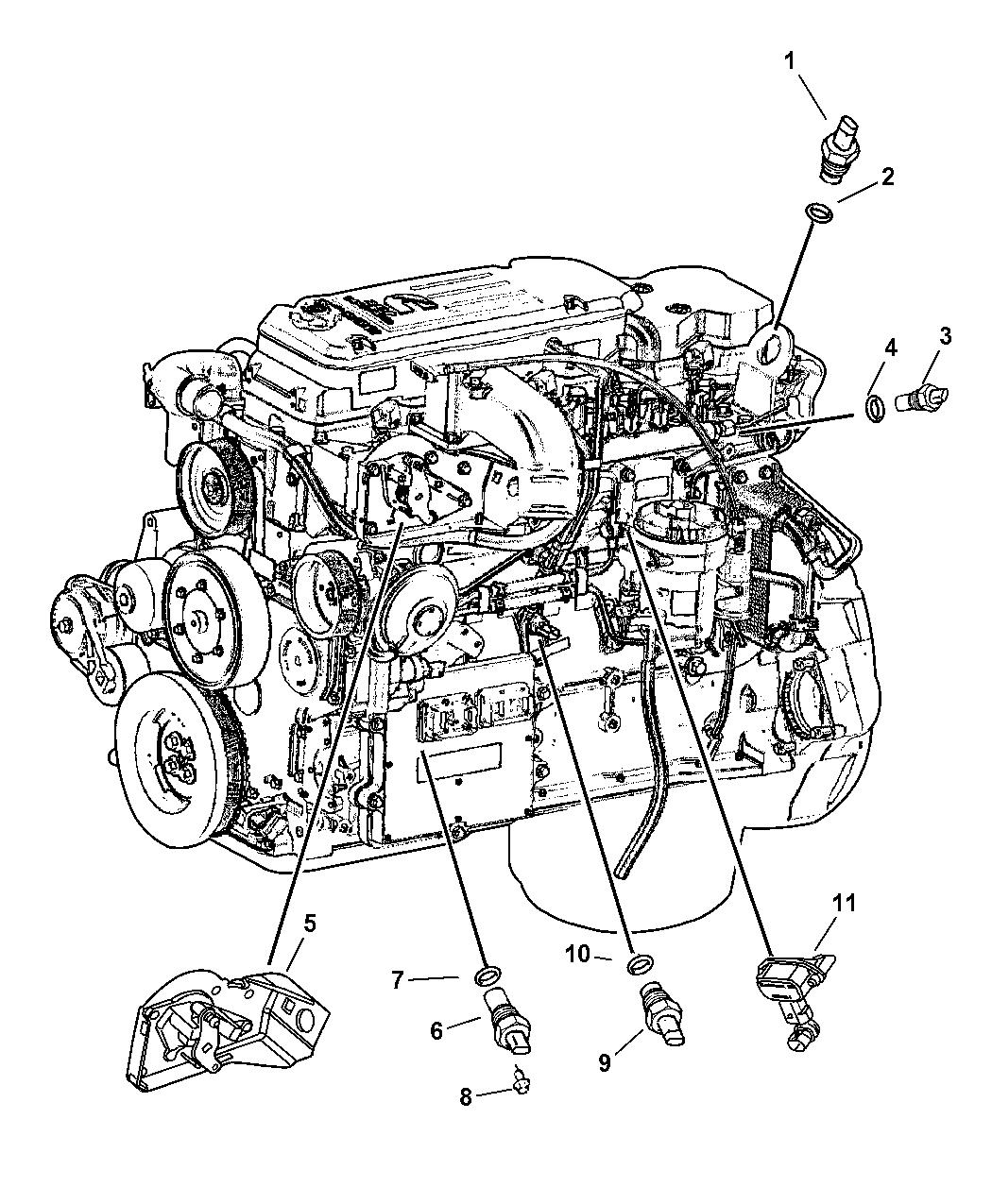 Genuine Dodge SENSOR-CAMSHAFT