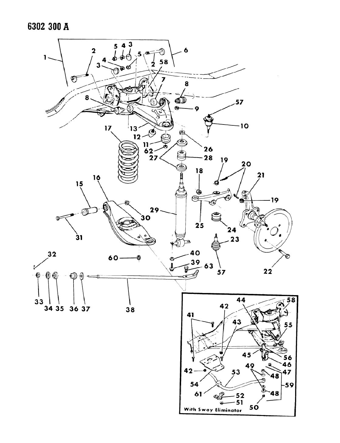 1987 dodge d150 suspension