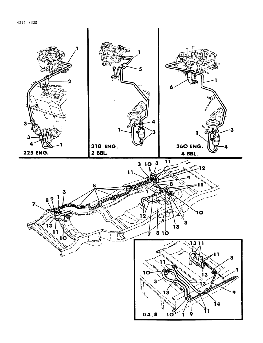 318 Engine Fuel Line Diagram