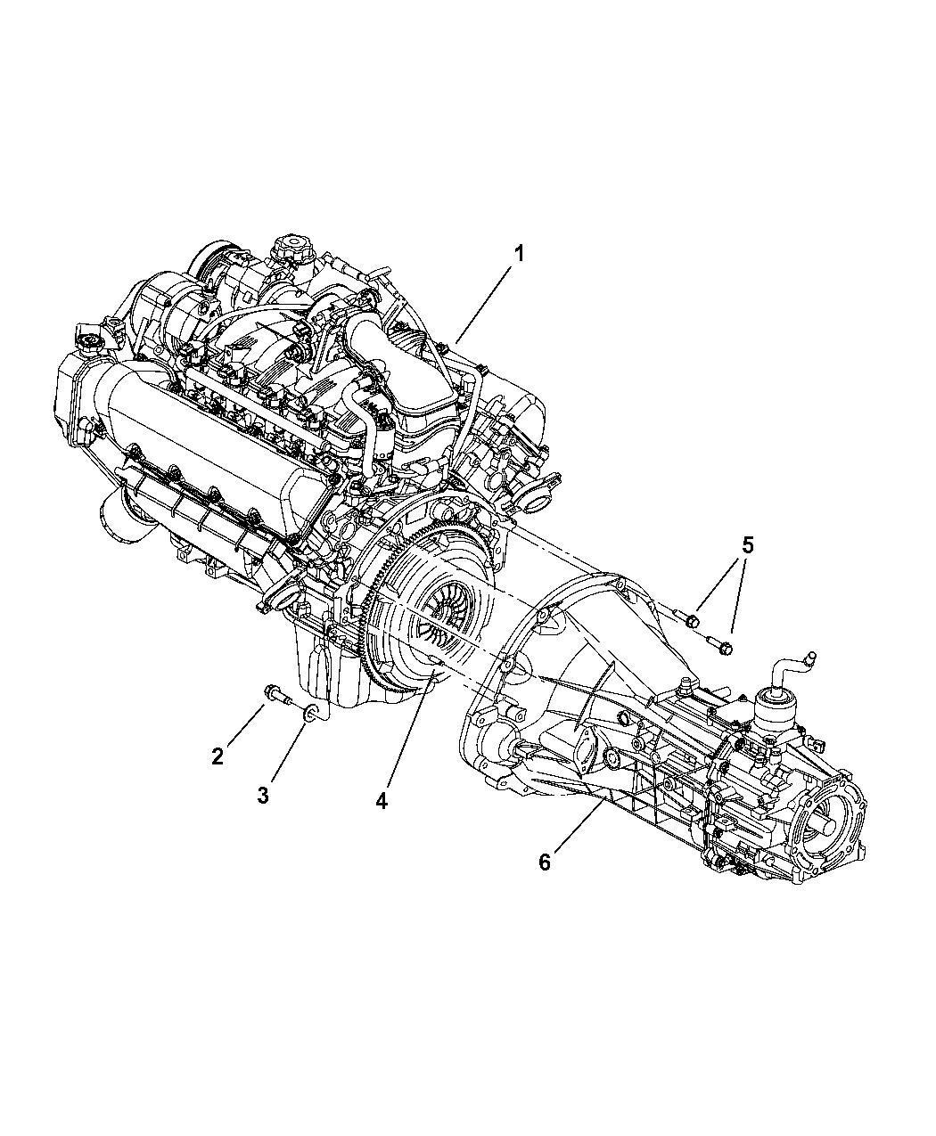 2005 dodge dakota transmission mounting of manual transmission.