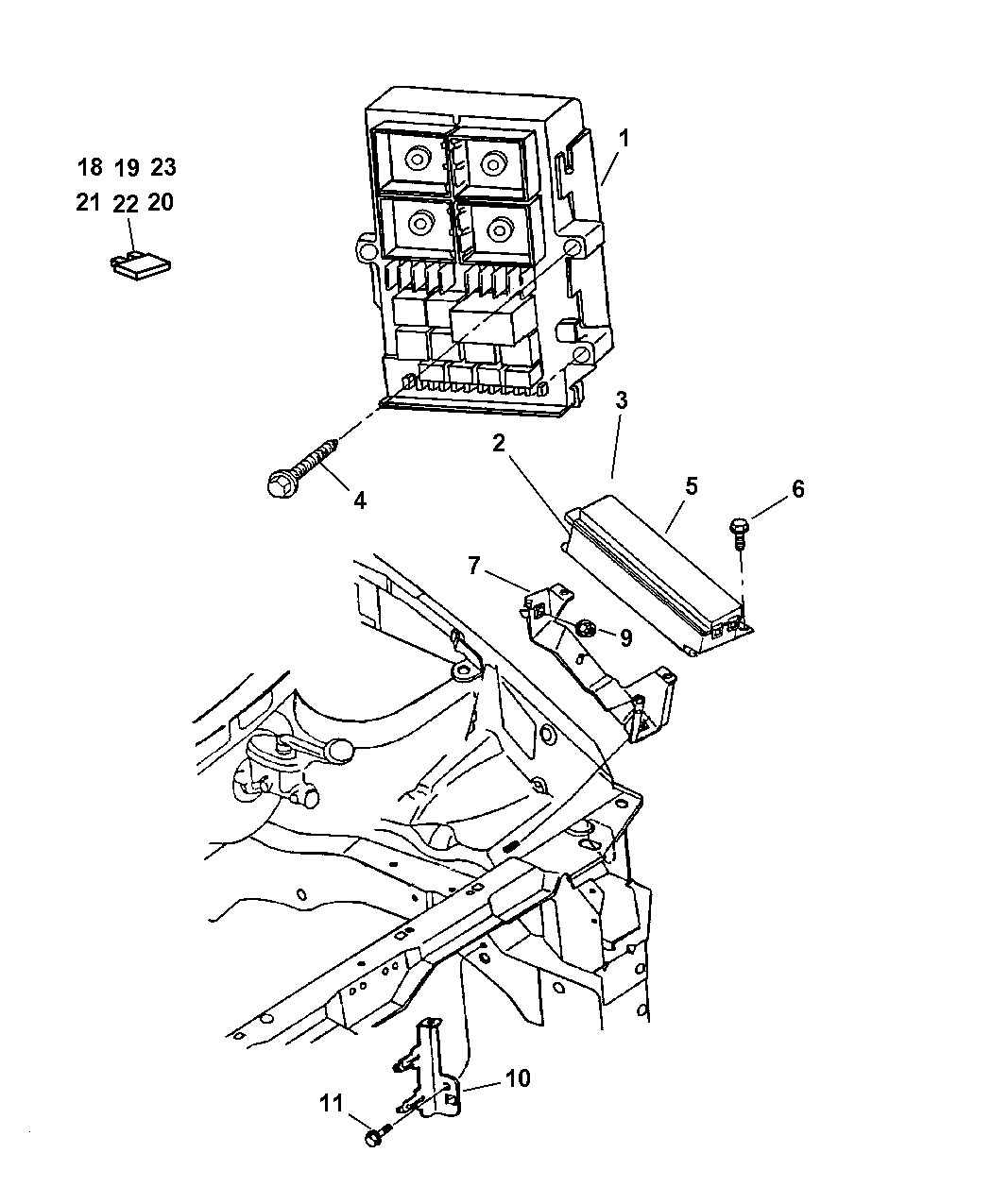 1997 Chrysler Town Amp Country Fuse Box Diagram