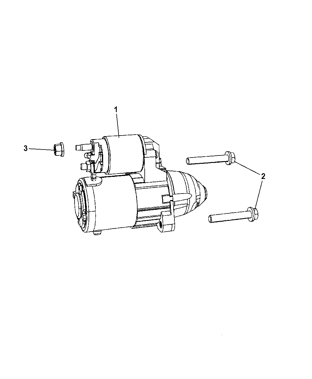 2012 Jeep Patriot Starter & Related Parts - Thumbnail 1