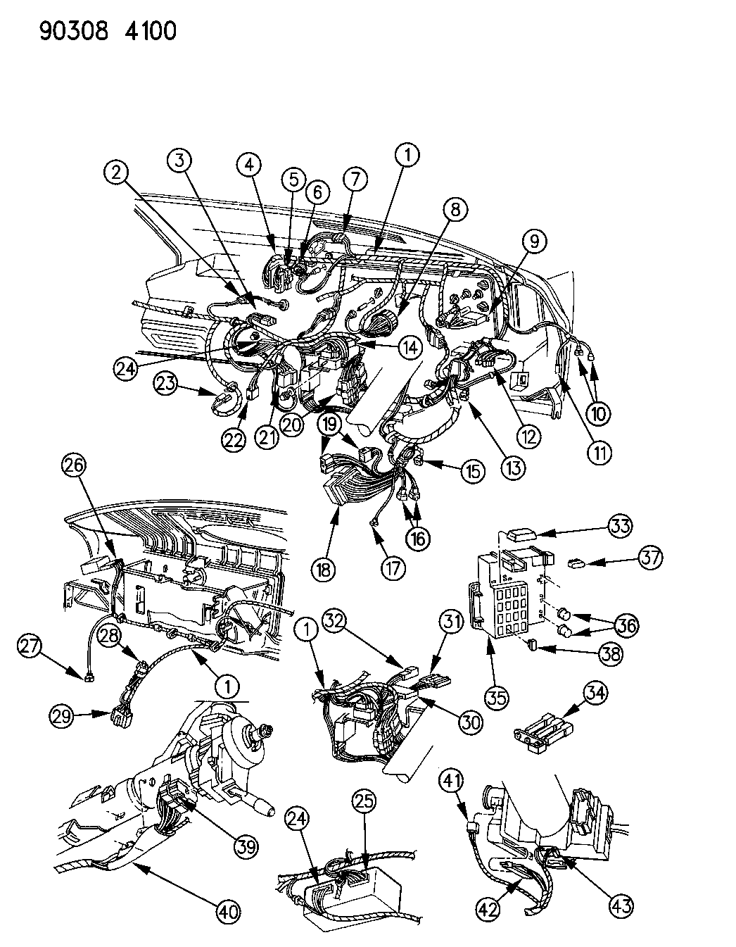 1993 Dodge Ramcharger Wiring