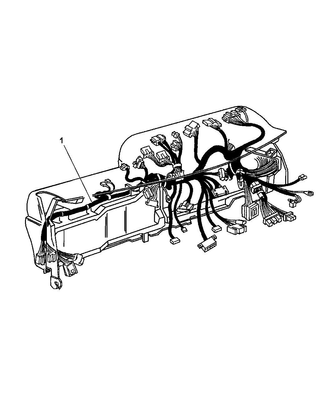 1998 Dodge Ram 1500 Regular Cab Wiring