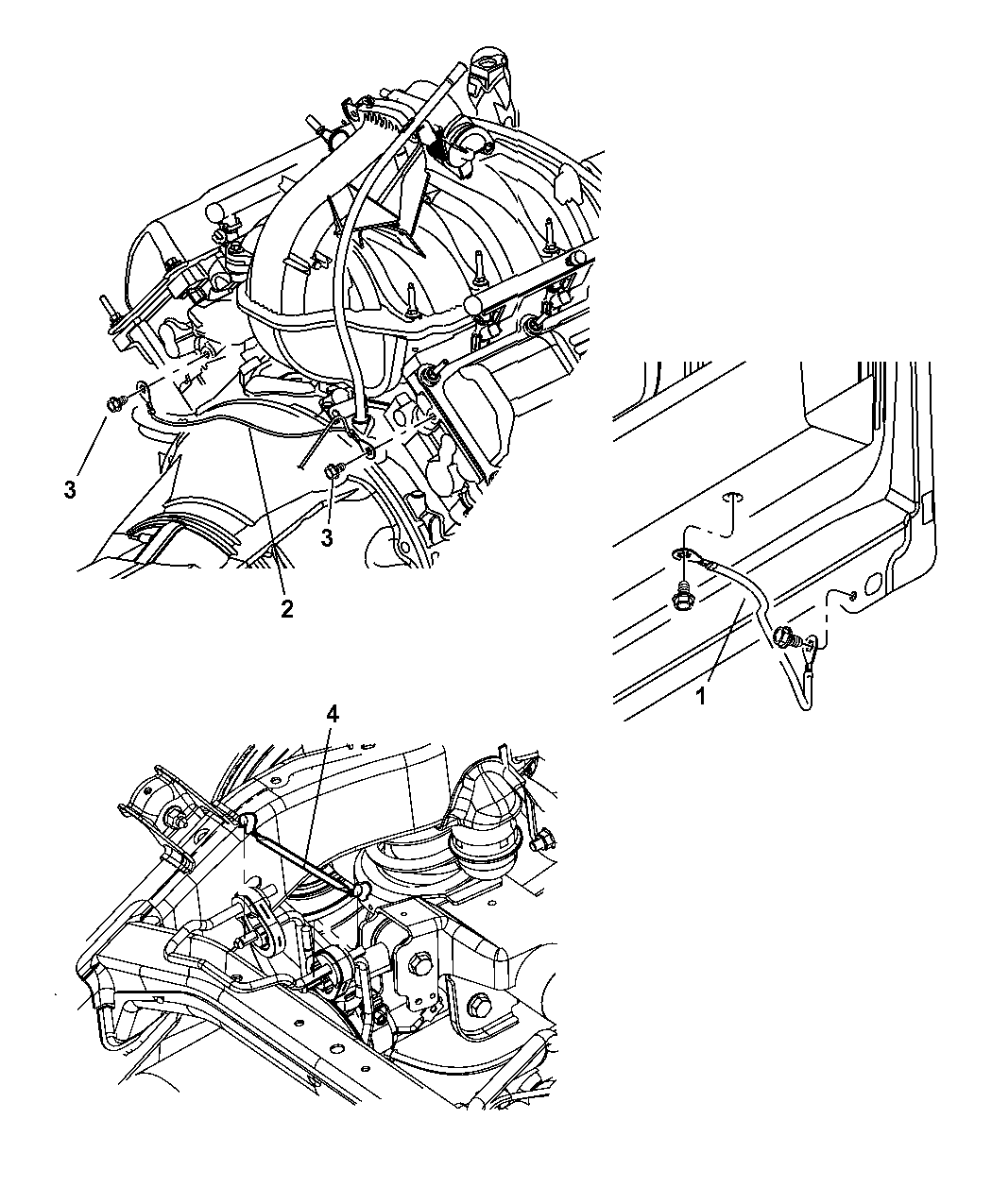engine ground strap diagram