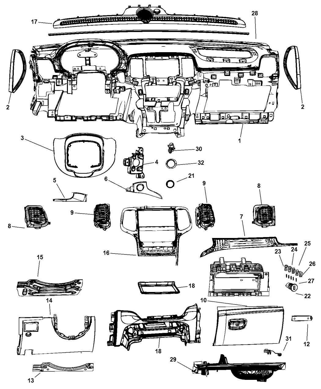 2014 dodge durango parts diagram  u2022 wiring diagram for free