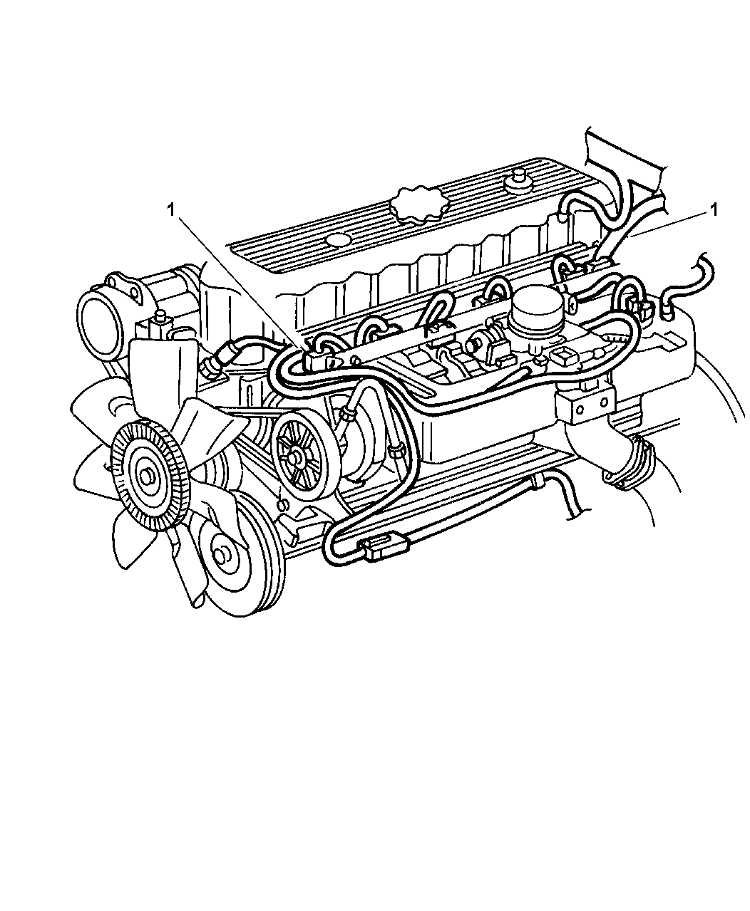 1997 jeep grand cherokee wiring - engine