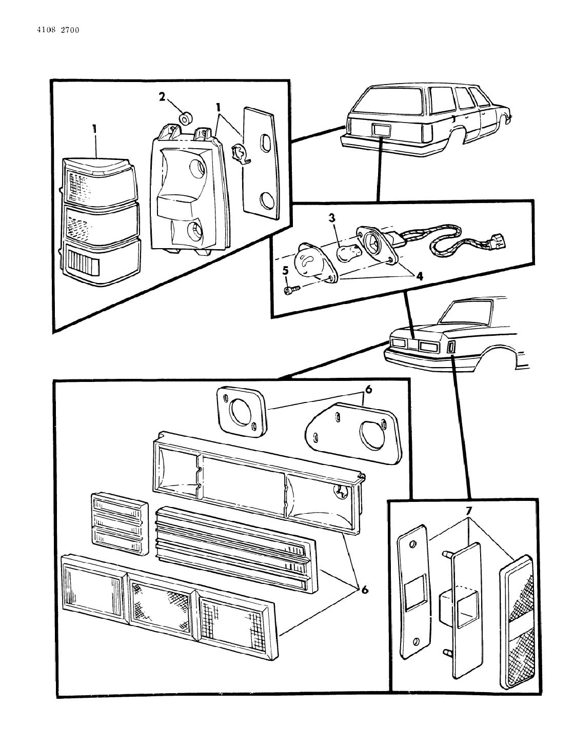 [WRG-2570] Dodge Aries Wiring Diagram