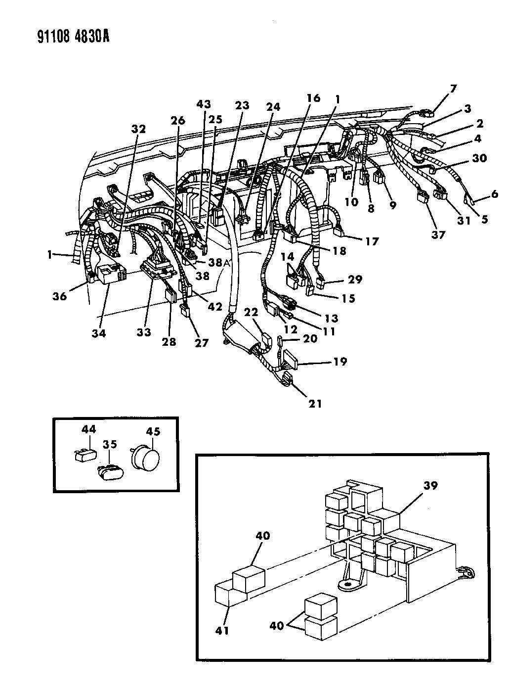 1993 chrysler lebaron wiring diagram 89 chrysler lebaron wiring diagram 1991 chrysler lebaron wiring diagram | wiring library #3