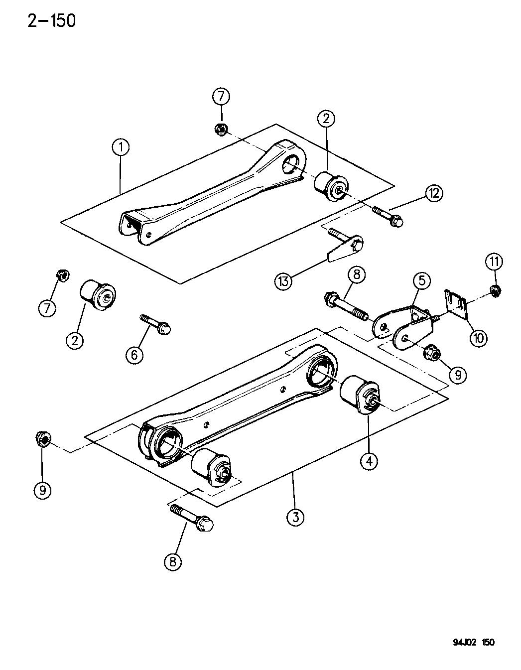 1995 Jeep Cherokee Suspension Parts Diagram • Wiring