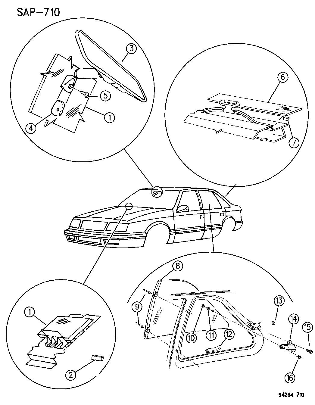 4299321  s rear view prism